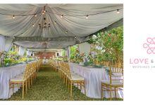 Celebrating Tina & Alvin by Love & Love Wedding Planner