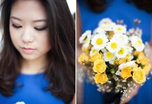 Sunshine outdoor wedding by SS Florist