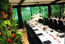 Wedding of Jack & Georgina @ Halia at Singapore Botanic Gardens by The Halia