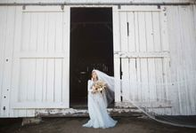Sunset Bridal Inspiration by MYWONY
