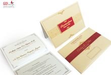 Wedding Invitation Card by GO!design Media Graphic