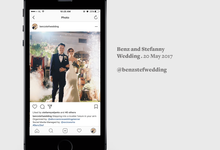 Benz and Stef - Instagram Account Management for Wedding by Socioworks | Social Media Management for Wedding