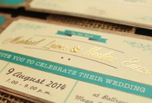 Herlina & Michael's Wedding Card by Premium Card