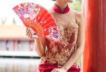 Ethereal Oriental by Veilworks Weddings