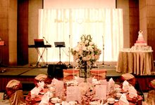 Wedding setup for Pei Jie & Diana Wedding by Lexis Suites Penang