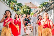 Thai Wedding Ceremony - Tony and Elin by Bantita Group