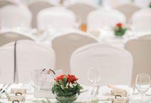 Wedding of Shane & Melissa @ Halia at Singapore Botanic Gardens by The Halia