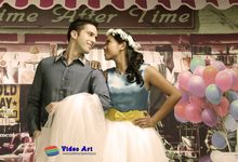 Prewedd Indoor Studio by Video Art