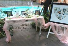 Joshua  & Donna Wedding by Fun Factor Decoration
