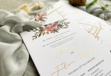 Spring Season by Trouvaille Invitation