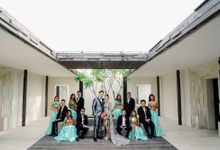 The Wedding  of Farah and Andrew by Alila Villas Uluwatu