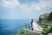 Natalia & Mervin Wedding by Six Senses Uluwatu, Bali