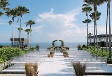 Alila Villas Uluwatu - Wedding of Samuel and Nathania by Alila Hotels and Resorts (Bali)