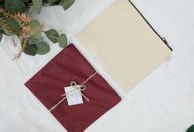 zipper b-size upgrade flanner for deffa & pandu by Gemilang Craft