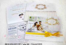 Candra & Wendy wedding invitation & stationery by Kairos Wedding Invitation