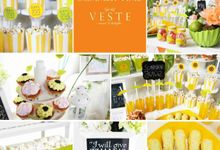 Summer Time Theme for Billy & Fay Wedding Day by Veste Sweet & Delight