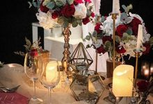 Intimate Weding by Blessing Decoration