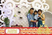 Wedding of Raymond dan Vivi by New Picturesque Express Photo Corner / Photobooth