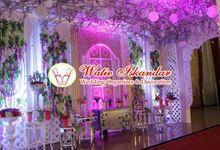 tema eropa modern by Watie Iskandar Wedding Decoration & Organizer