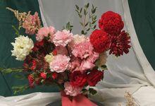 Bridal/ Wedding Hand Bouquet by Beyond by Brigita