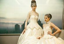 Wedding Gown : PETAL by Asky Febrianti