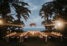 Whimsical Tropical Wedding at Stone House by Tirtha by Tirtha Bali