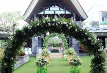 eras & farah decoration wedding by Our Wedding & Event Organizer