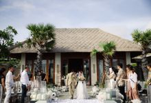 Alfian and Jessliyn Wedding by Six Senses Uluwatu, Bali