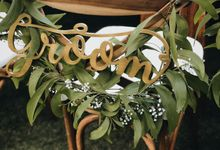 Elegant Greenery For Natalie & Pery by Silverdust Decoration