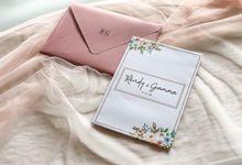 Undangan Pernikahan Rendy & Gamma by Moria Invitation