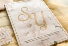 Undangan Pernikahan Samuel & Yopin - Single Hardcover by Moria Invitation