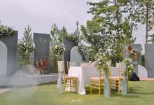 the wedding Adin&Dira by THE HIVE BUMI PANCASONA