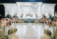 Rizal & Lilis Wedding Decoration by Valentine Wedding Decoration