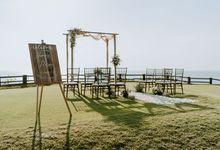 Elopement Shanice & Ryan at Panoramic Clifftop in Jimbaran by Amora Bali Weddings