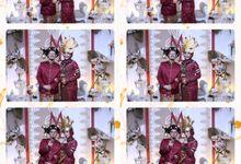 Maya & Didit Wedding by Foto moto photobooth
