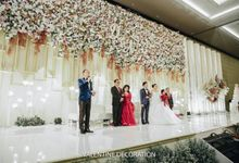 Ary & Dita  Wedding Decoration by Valentine Wedding Decoration