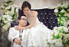 Prewedding William-Putri at Alissha Studio and around by Alissha Bride