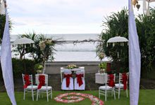 Wedding Ceremony of Dian and Ramond by WakaGangga Resorts