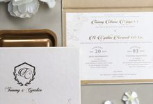 The Wedding of Tommy & Cynthia by SentimeterCard