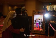AR Photo booth at the Wedding of Irwinda & Tian by Belovewed
