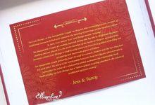 Wedding of Jess & Tanty by Ellinorline Gift