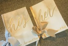 Edward & Silvana Wedding Vows by Calligraphy By Mercia