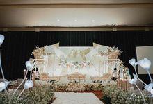 Vitra Ballroom, 27 Jun '21 by Pisilia Wedding Decoration