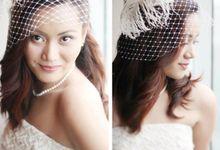 Bride Jazz by Ochie Laraya hair and makeup