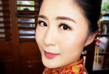 Chinese Traditional Makeup by Charlotte Sunny