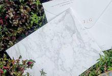 Jesica Grasio Wedding Invitation by Galeri Amori