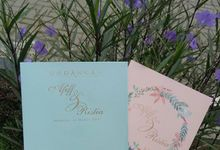 Afiff And Tia Wedding Invitation by Galeri Amori