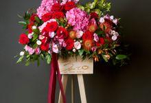Flora stand Styling - celebration by Beato