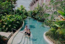 Pre-Wedding of Yilin & Benjamin (Resort) by Sofitel Bali Nusa Dua Beach Resort