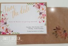 Saffron Design by Le Papier D'Amour